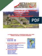 Formalizacion Propiedad Rural