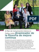 El plan de comunicación interna en Fujitsu