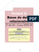 Algebra Relacional y Bd i