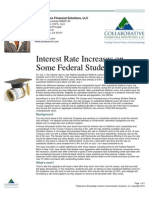 Interest Rate Increased on Some Federal Student Loans