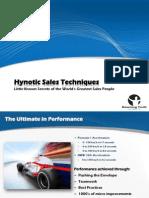 Hypnotic Sales Techniques