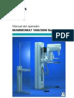 Operador Manual Spanish MAM 1000 3000Nova s 4792418 1