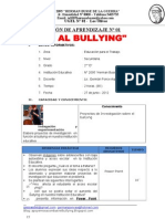 Sesion Aprendizaje 1 No Al Bullying