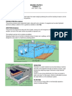 #3 Water Treatment Handout