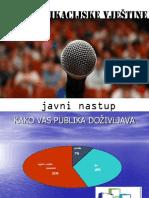 Komunikacijske Vjestine. Javni Nastup