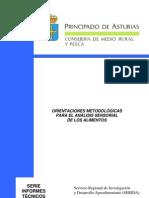 ORIENTACIONES METODOLÓGICAS PARA EL ANÁLISIS SENSORIAL DE LOS ALIMENTOS