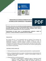 PROGRAMA DE FORTALECIMIENTO DE ESPACIOS DE ESTIMULACIÓN TEMPRANA Y DESARROLLO INFANTIL