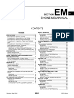 2003 Nissan Altima 2.5 Serivce Manual EM