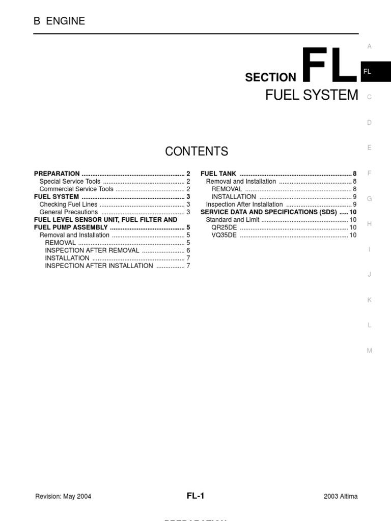 wrg 3813] nissan altima fuel filter 2003 Suburban Fuel Filter