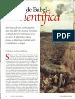 Roberto Martins Torre Babel Cientifica Scientific American