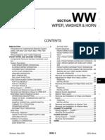 2003 Nissan Altima 2.5 Serivce Manual WW