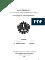Laporan Askep Pada Ny. S dengan apendisitis akut