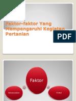 Faktor-faktor Yang Mempengaruhi Kegiatan Pertanian.pptx