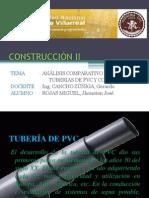 CONSTRUCCIÓN II - tuberias