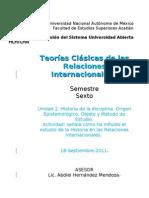 TC RRII - MJarquin U2 La Historia en Las Relaciones Internacionales