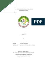 My Report - Deaw