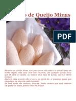Biscoito de Queijo Minas