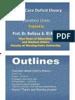 New Orem Theory