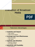 IMC- Evaluation of Broadcast Media