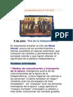 Ideas y propuestas para el 9 de julio.doc