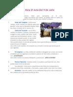 Ideas Para El Acto Del 9 De Julio.doc