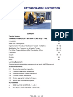Training Categorization Instruction (Fire)