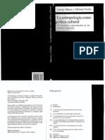 Marcus & Fisher - La antropología como crítica cultural pp.169-202 (Conflicto con la codificación Unicode)