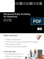 14180166 Advanced Ruby Scripting for SketchUp