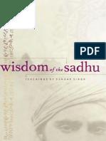 Wisdom of Sadhu Sundar Singh