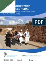 Turismo Comunitario y Desarrollo Rural
