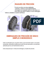 Tipos de Embragues