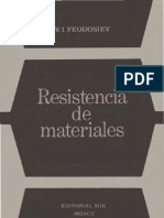 Resistencia de Materiales- V.I. Feodosiev- Resistencia de Materiales- Mir