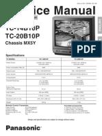 Tv Panasonic Tc-14b10p Tc-20b10p