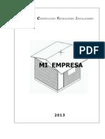 Proyecto  microempresa 2013