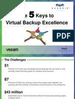 Joint Presentation Exagrid and Veeam Backup