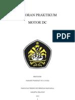 Laporan Praktikum Motor Dc Ref