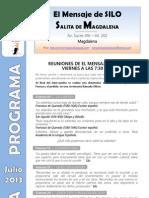 El Mensaje de SILO - Salita de MAGDALENA - Programa JULIO 2013