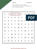 Fichas Para Mejorar La Atencion Con Operaciones Matematicas 1
