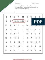 Fichas Para Mejorar La Atencion Con Operaciones Matematicas 2