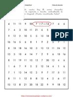 Fichas Para Mejorar La Atencion Con Operaciones Matematicas 8