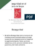 Bioseguridad en El Banco de Sangre