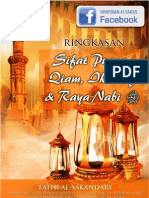 Sifat Puasa, Qiam, Iktikaf Dan Raya Nabi - Edited 13-8-12