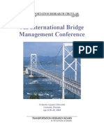 9th Int Bridge Man Conference