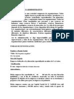 Proceso Tecnico Administrativo - Adm