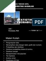 Kuliah Statistik 1
