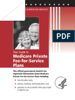 Medicare Private Fee for Service Plans