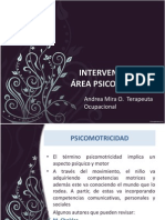INTERVENCION PSICOMOT 2013