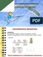 CONCORDANCIA GRAMATICAL TEORIA