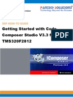 Getting Started With Code Composer Studio 3