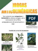 Drogas Anticolinérgicas